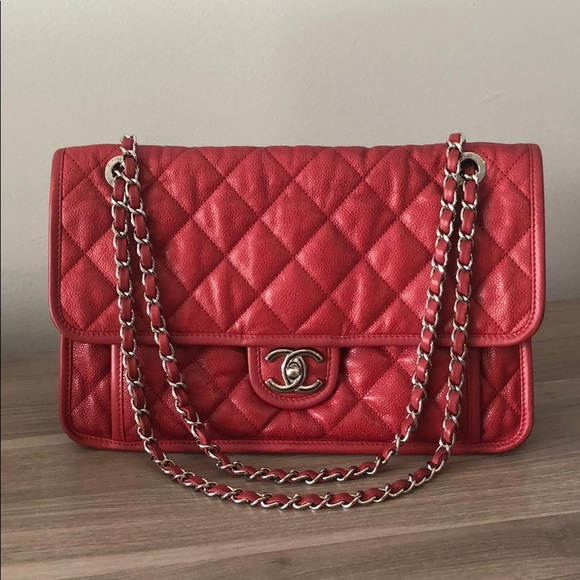 2f4d4350217a CHANEL Handbags - Authentic CHANEL French Riviera Flap Bag